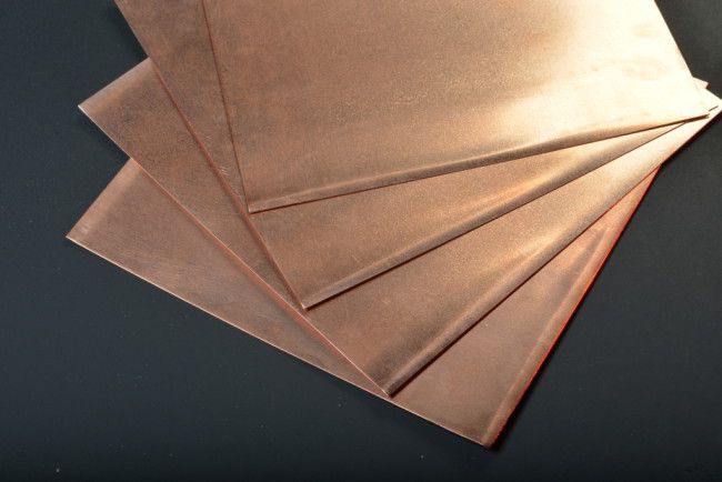 copper sheeting  copper sheet  thin copper sheet
