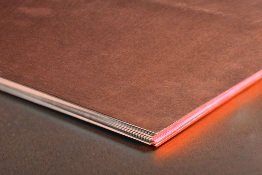 Copper Sheeting Copper Sheet Thin Copper Sheet