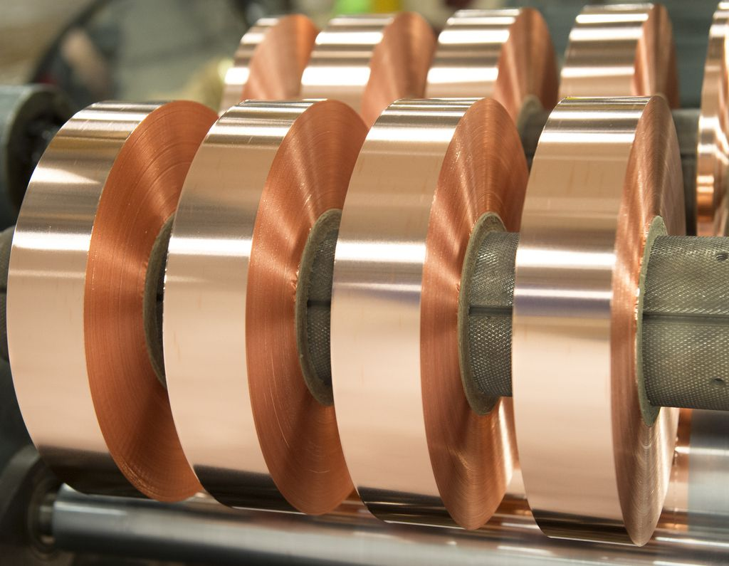 Copper Coils And Copper Rolls From All Foils Inc